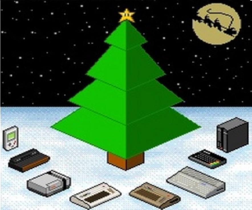 Imagem: Arte da capa do álbum The 8bits of Christmas