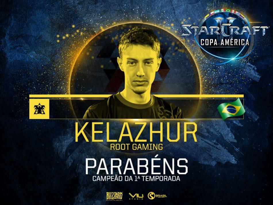 Imagem: homenagem a Kelazhur, vencedor de StarCraft II - Divulgação