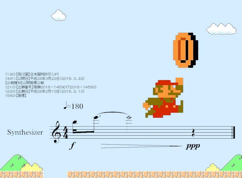 Imagem: fotomontagem com arquivo visual da nota musical do efeito sonoro do game Super Mario Bros.