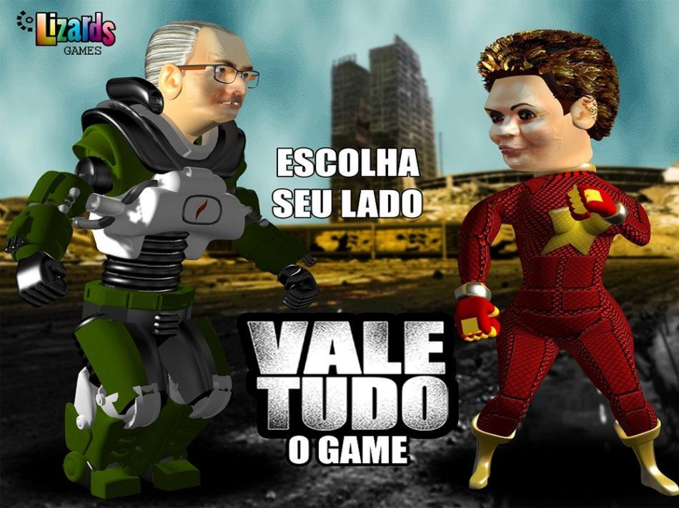 Imagem: Vale Tudo, game da empresa Lizards Games