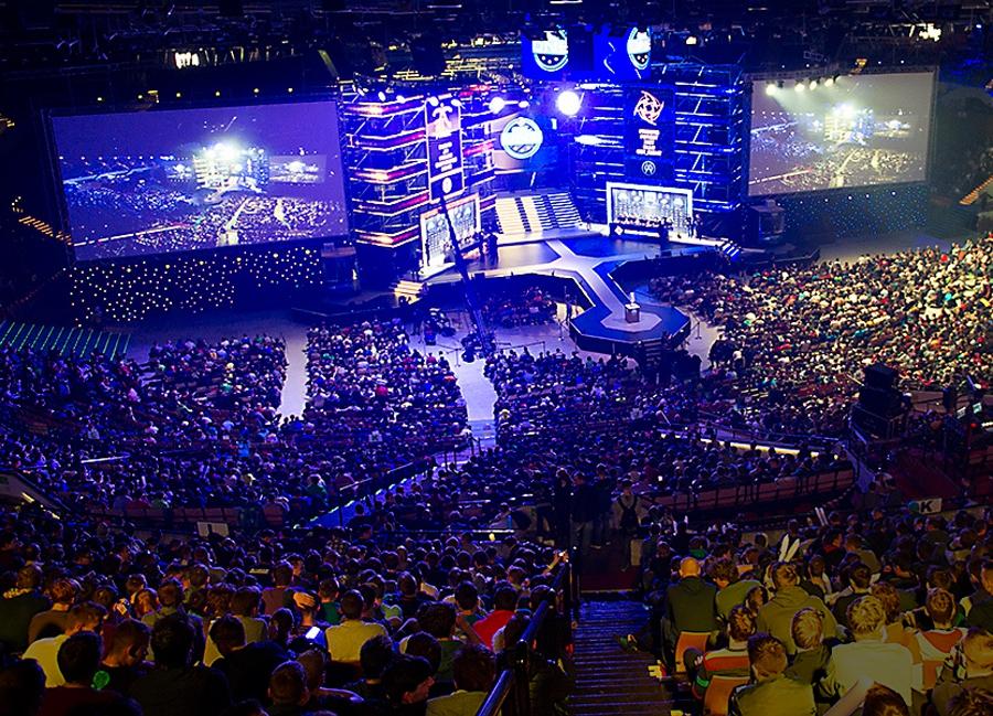 Imagem: foto de torneio de ESL CS:GO - via Aftonbladet-se