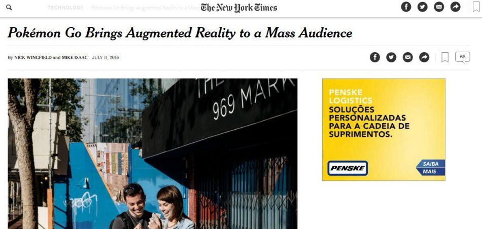 Foto: Reprodução/New York Times