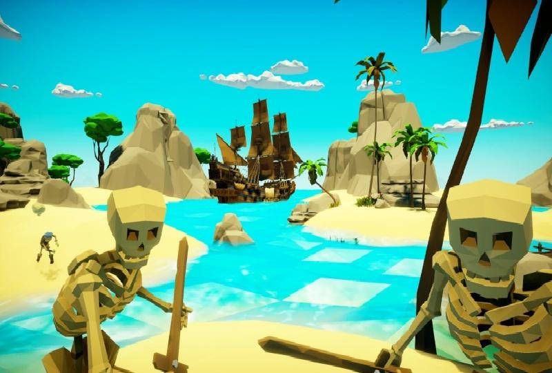 Imagem: Game em VR Virtual Pirate