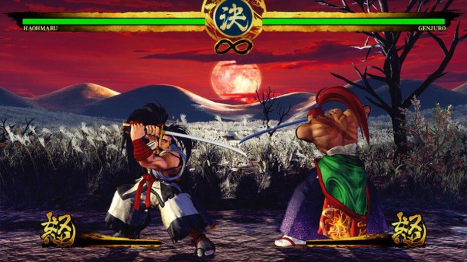 Samurai Shodown ps4, xboxOne, Stadia, NSwitch-luta em curso!