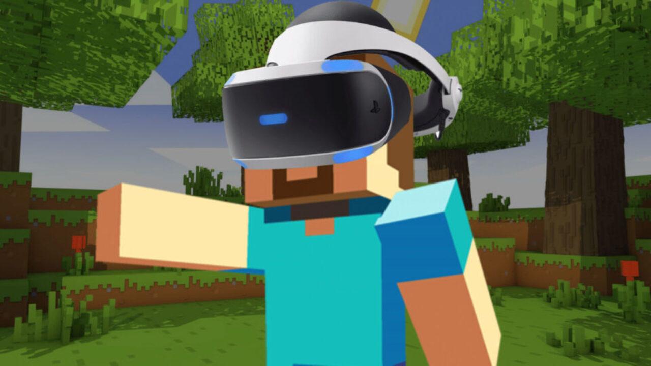 Minecraft vai receber atualização grátis para PSVR neste mês