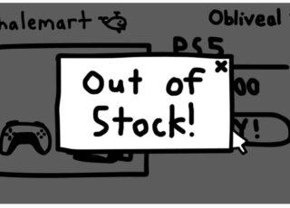 Confira a charge de PS5