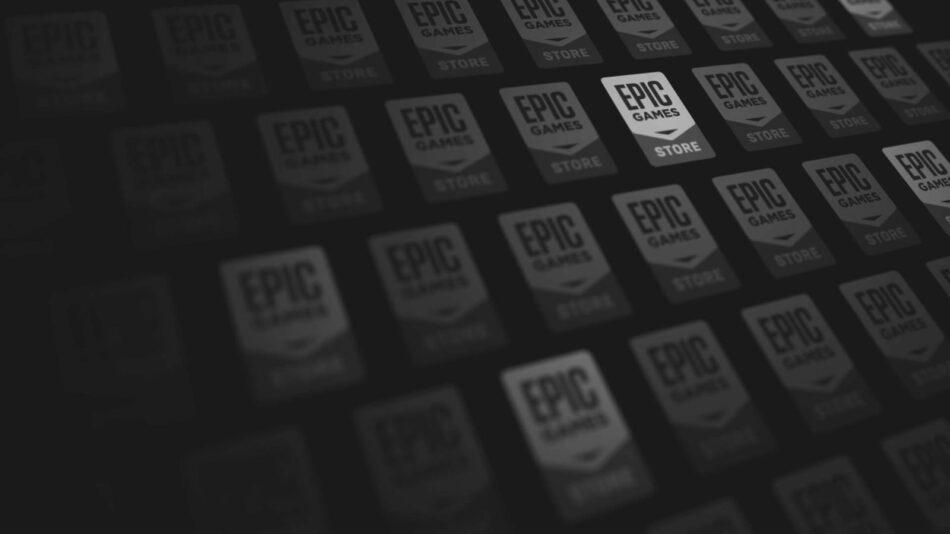 Veja o logotipo da Epic Games Store