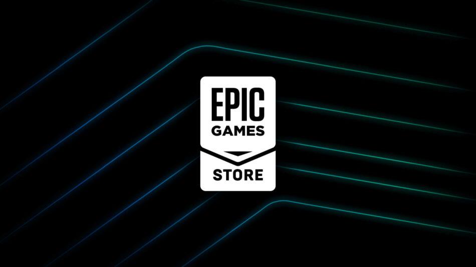 É o logotipo da Epic Games Store
