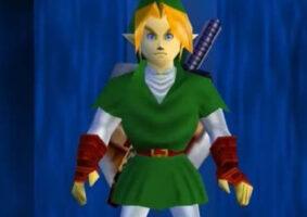 Veja Link adulto de The Legend of Zelda Ocarina of Time
