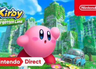 Kirby está de volta com a Nintendo