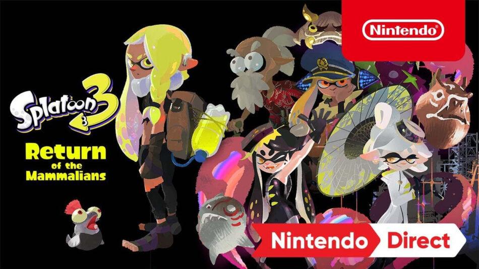 Splatoon 3 é o novo game da Nintendo