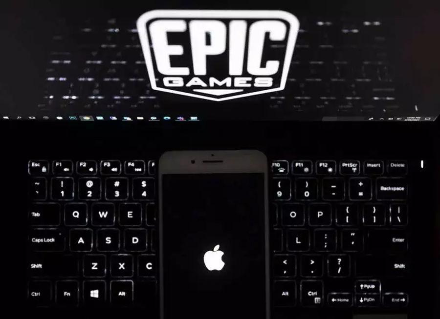 Veja a Epic e a Apple