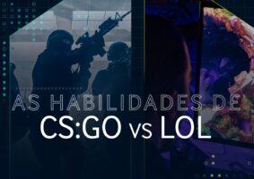 Veja o CS e LoL