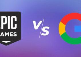 Veja Epic Games e Google