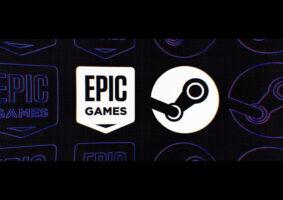 Veja a Epic Games e o Steam